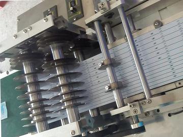 एडजस्टमेंट घुंडी के साथ स्पीड समायोज्य ब्लैक पीसीबी काटना मशीन