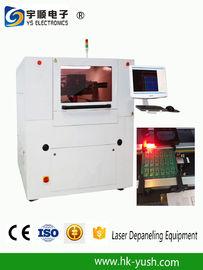 श्रीमती पीसीबी लेजर काटने की मशीन / लेजर Depaneling मशीन उच्च परिशुद्धता